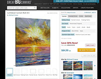 Beach Sunsets from Great BIG Canvas