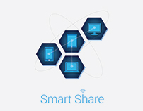 Smart Share App UI