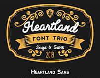 Free* Heartland Font (Free Sample)