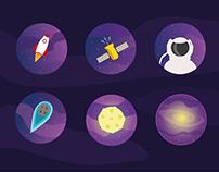 Cosmic Vector Icons