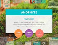 Anophyte Flat UI kit
