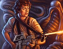 Aliens - Into the Queen´s nest