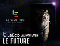 LeEco Launch Event - Le Future