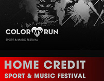 HOME CREDIT MY COLOR RUN