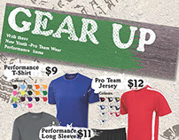 """Gear Up"" Flyer"