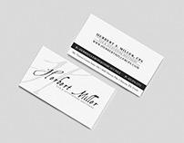 Herbert Miller CPA  - Business Cards