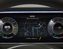 Mercedes-Benz Dashboard Design