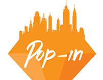 Pop-in Logo Design