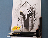 Warrior Headcover | Syed Art