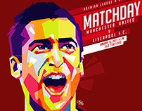Manchester United's Matchday Poster