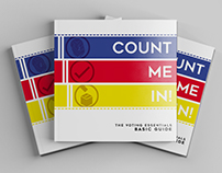 COUNT ME IN! Creative Voting Booklet