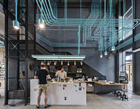 SUPERMACHINE STUDIO CREATES A CO WORKING PLACE IN THAIL