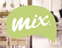 MIX brand identity