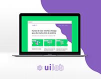 Landing Page, UI Lab | UI Exercise