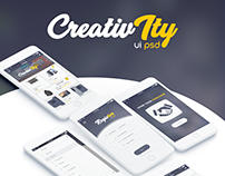 CreativIty UI/UX IOS App