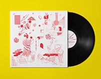TOMAGA - LA JUNGLE - JOZEF VAN WISSEM - Vinyl artwork
