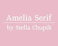 Amelia Serif (Work in Progress)