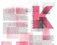Katica - typo poster