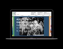 Website Concept Deichtorhallen Hamburg
