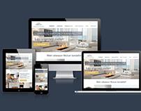 UX/UI designfor Wulcan Ltd (fireplacebuilding company
