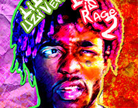 Lil Uzi Vert - Luv Is Rage 2 Album Cover Re-Design