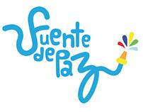 Imagen y desarrollo gráfico para Fuente de Paz.