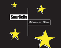 CD artwork: Sourbelly-Midwestern Stars