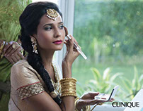 Clinique India - Bridal Trousseau Service Campaign.
