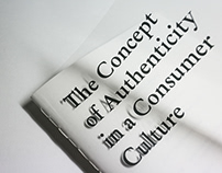 The Concept of Authenticity in a Consumer Culture