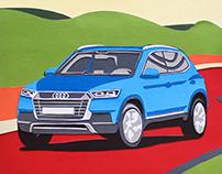collage - Audi Q2 2016