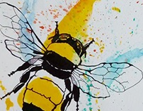 Bumble Bee Sketch
