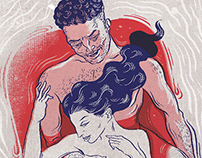 Fantasy -illustration for Gaysi Zine