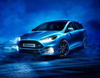 Ford Focus RS - Full CGI & Retouching