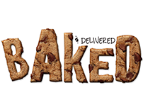 Baked & Delivered - Logo + Branding + Identity Design