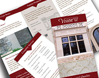 Trifold Brochure and Rack Card Designs