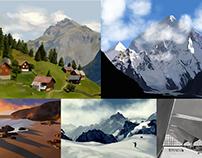 Landscapes / sketches & practice etc.