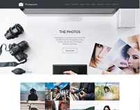 Photos 4 Columns - Photography WordPress Theme