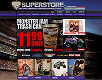 Monster Jam Superstore Rebuild