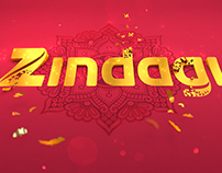 Indian Channel Rebranding. Zindagi Pich Design