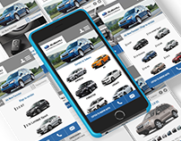 Subaru - prototype web mobile