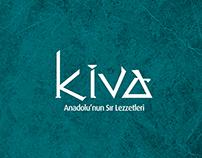 Kiva Restaurant Brand Identity Design