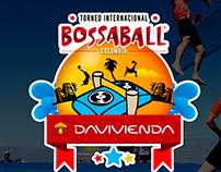 Key Visual Torneo Internacional Bossaball Davivienda