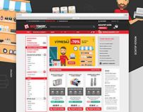 Mojetonery.sk | Webdesign