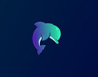 Every week new animal   7 Dolphin logos