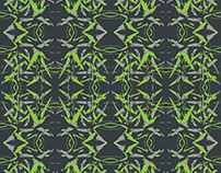Free Illustrator Pattern - Sharp Flower BG
