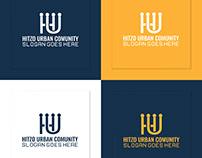 Global Community Human Inspiration Urban Logo Design