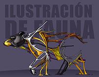 Ilustración de fauna