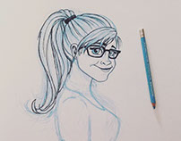 Self-Portrait: Disney-Princess Style