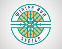 Winter Run Series Branding