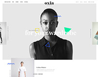 oxia fashion web project